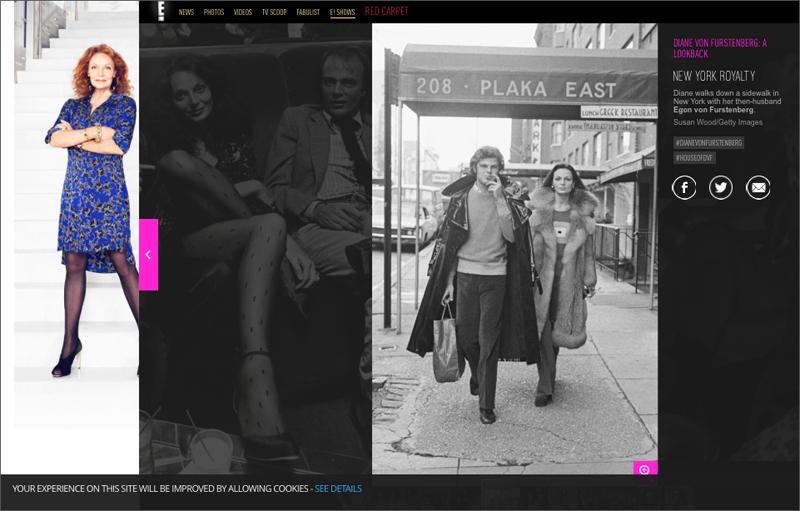 Diane Von Furstenberg on E! Online